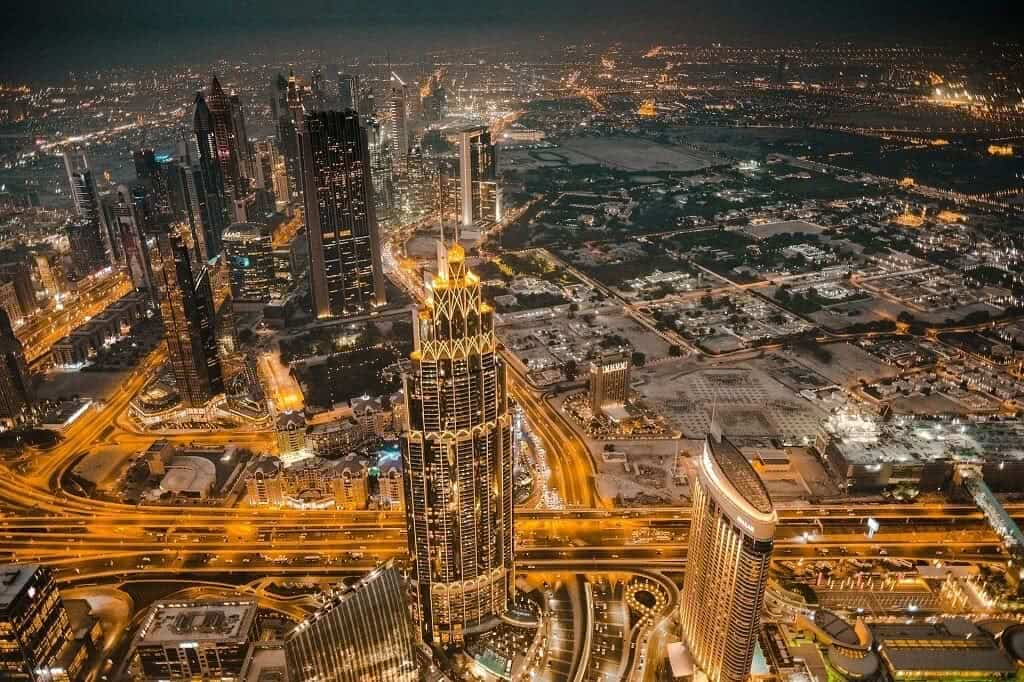skyline photo of the city of Dubai